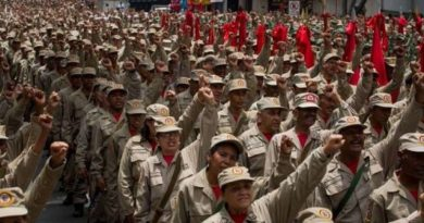 Maduro says Venezuela's civil militia grows to 1.6 million members