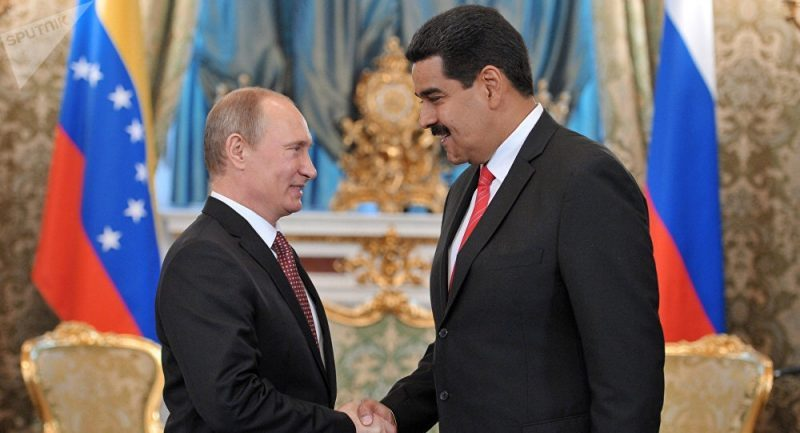 * Venezuela and Russia sign agreements in oil, mining and food.