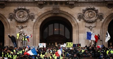 The Images of the 5th Saturday of Protests in France