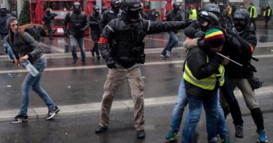 * French Intelligence Rejects Russian Nexus in Paris Protests