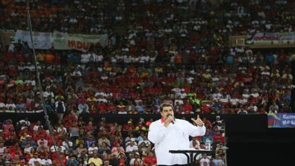 Maduro Calls the Venezuelan People for National Union in the Face of Possible Attacks