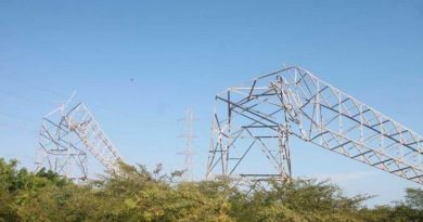 Five Electricity Towers were Demolished by Saboteurs in Zulia (+PHOTOS)