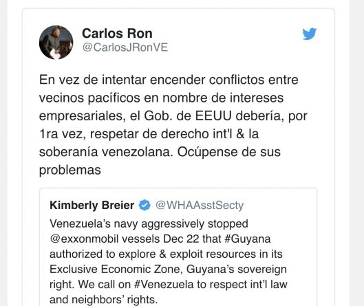 """""""Take care of your own business"""": Deputy Minister for North America Responded to the US (Guyana)"""