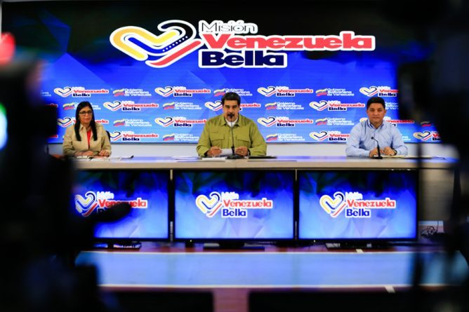 """First Level of """"Venezuela Bella"""" Mission will Transform 220 Avenues, 183 Squares and 169 Boulevards in the Country"""