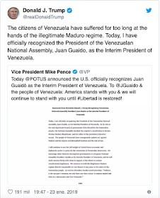Ongoing coup in Venezuela