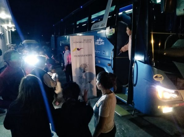 Venezuelan Victims of Xenophobia in Ecuador on Their way to Quito
