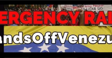 USA: Emergency Rallies to Defend President Maduro and the Bolivarian Revolution