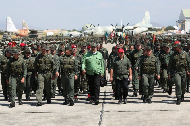 Maduro Participated in Military Exercises: 50,000 New Popular Units of Integral Defense
