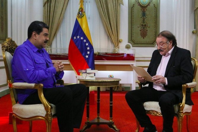 * Maduro - Interview with Ramonet: We Work to Recover Oil Production in 2019 (+ Video)