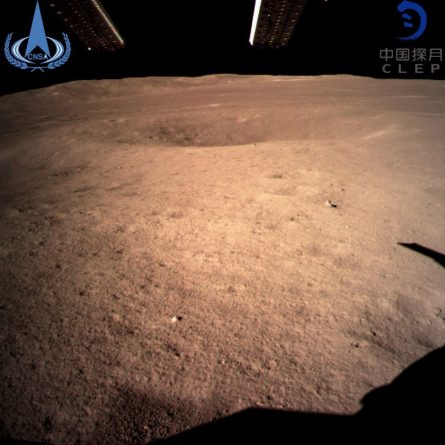 * Chinese Probe Chang'e 4 Lands on the Hidden Side of the Moon for the First Time in History