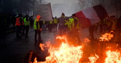 * Eighth Saturday in a row: the yellow vests take the streets of France