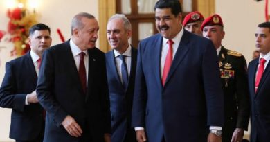 * Erdogan spoke with Maduro and expressed Turkish support for the Venezuelan people