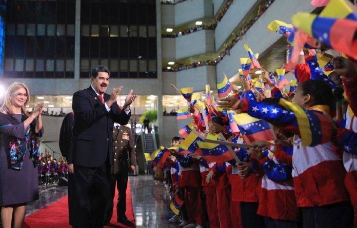 Nicolas Maduro is Sworn in as President for the Period 2019-2025