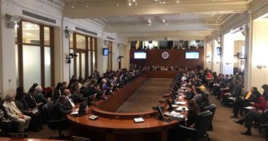 OAS Approved (as expected) Resolution Declaring Maduro's New Term Illegitimate