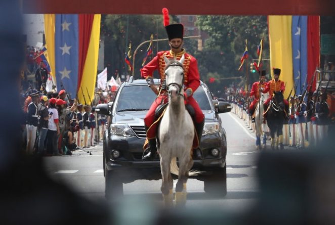 Maduro's Inauguration in Images