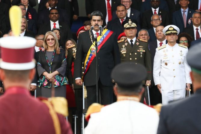 Venezuelan Army recognized Nicolas Maduro After Being Sworn (images)
