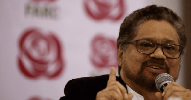 AWOL Former FARC Leader Ivan Marquez Returns From Obscurity