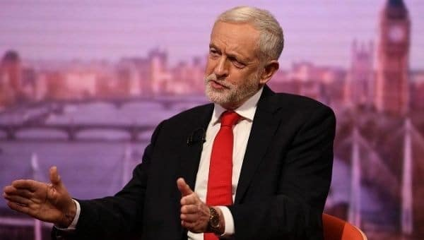 UK: Jeremy Corbyn Calls for No-Confidence Vote Against May