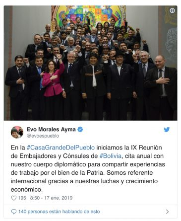 Bolivia Lowers its External Debt to Historic Levels