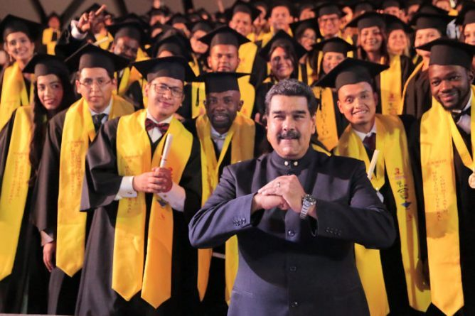128 International Students Graduated Yesterday from the Latin American School of Medicine