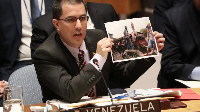 Jorge Arreaza - UN Security Council: How in the House of the Multilateralism is it Not Possible to Prevent the Rule of Unilateralism and  US Dictatorship? (VIDEO)