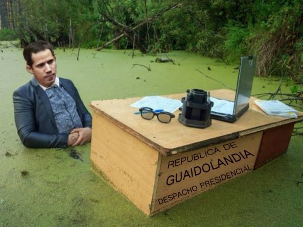 """Guaidó, a """"President"""" Without Territory, Without Army and With a Bitter Taste of Defeat"""