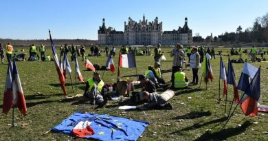 Yellow Vests Act 15: Picnic at Chateau, Tear Gas on Promenade (VIDEO)