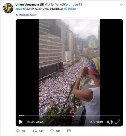 Social Media Automation & Infowars by Venezuelan Opposition