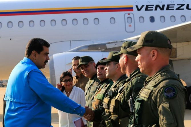Maduro Thumbs Up Negotiation Plan for the summit in Uruguay