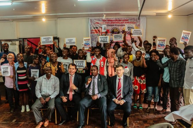 Kenyan Activists Slam US-Guaido Coup in Venezuela