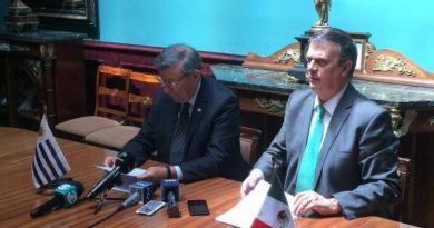 "Mexico, Uruguay and CARICOM present the ""Montevideo Mechanism"" for dialogue in Venezuela"