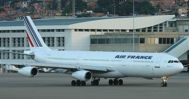 """Due to the Situation in Venezuela"": Air France Cancels Flights to Caracas Until Monday"