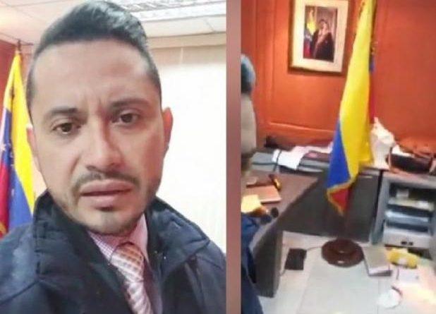Venezuelan Consulate in Guayaquil (Ecuador) assaulted