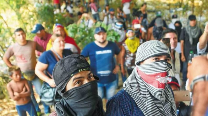 Inhabitants of Cucuta Reject Presence of Violent Groups (Guarimberos)