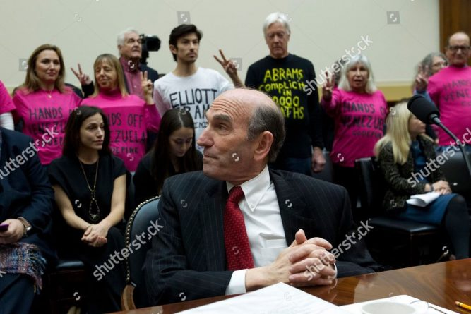 CodePink protested Elliott Abrams in US Congress: They demanded not to listen to a war criminal (+ Photos)