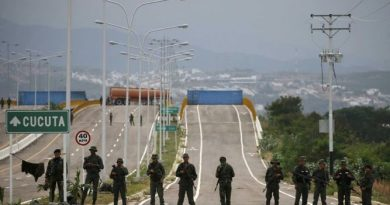 Security Reinforced at Las Tienditas Bridge