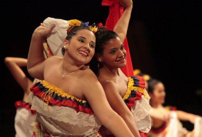 """Danza Tricolores de Venezuela "" Dancing Collective Shine  in the GAN"