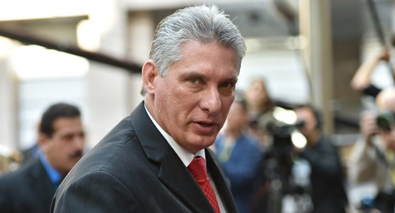 Díaz-Canel calls on the world to prevent aggression against Venezuela