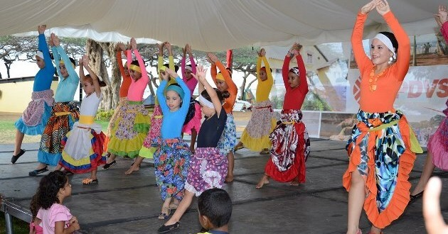 PDVSA La Estancia Invitation to Participate in a Popular Dance Workshop