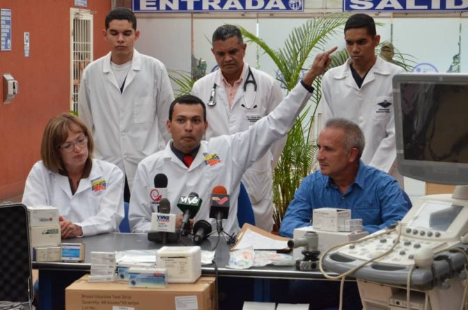 In Táchira Hoarded Medication for Cancer Patients worth $ 113,980 and immense amounts of medical material