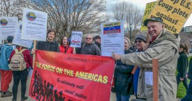 """Oakland hosts """"Hands off Venezuela"""" rally"""