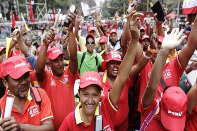 This Saturday Chavismo will March in Caracas in Defense of the Homeland