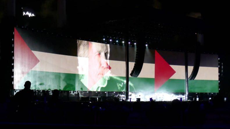 "Roger Waters (Pink Floyd): ""The Red Cross and the UN unequivocally agree, don't politicize aid"""