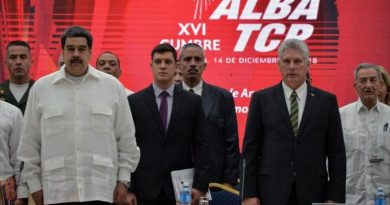 """ALBA, Iran, Russia and China Express """"Unlimited Support"""" for Venezuela"""