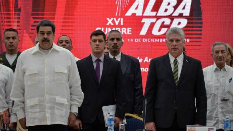 "ALBA, Iran, Russia and China Express ""Unlimited Support"" for Venezuela"