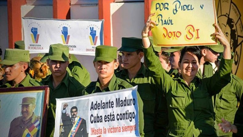 The Cuban Army Will Support Maduro in the Event of US Interference