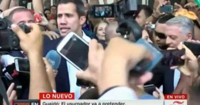 """Guaidó Returned and was Not Detained-Analyst: """"Threats of his Masters Denote Fear and Cowardice"""""""