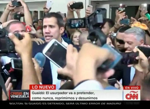 "Guaidó Returned and was Not Detained-Analyst: ""Threats of his Masters Denote Fear and Cowardice"""