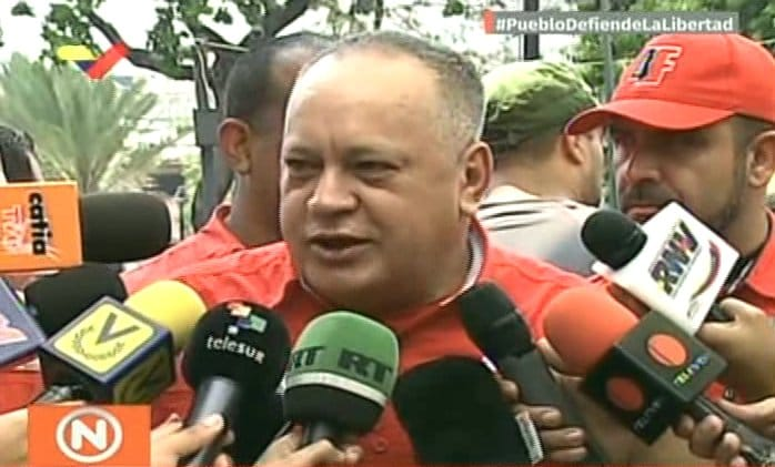 Diosdado Cabello: We Met With the Red Cross and Authorized the Entry of Medical Supplies  (+ Video)