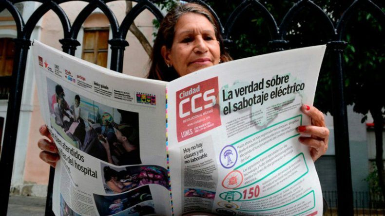 How Does a Venezuelan Newspaper Come to Light in the Darkness of a Blackout?